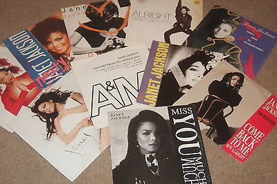 "10 x 12""      Janet Jackson Collection        ORIGINAL & REMIXES!!"