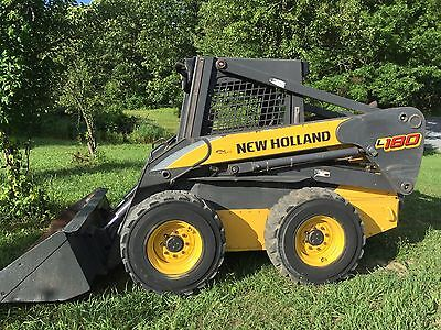 2007 New Holland L180 Skid Steer Loader Skidloader Diesel Cheap Shipping Rates