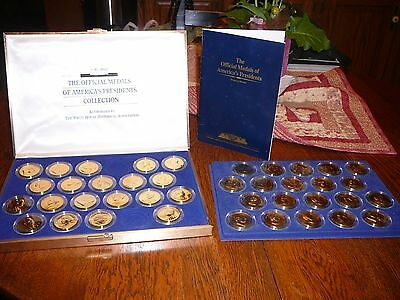 Official Bronze Medals of America's Presidents Collection