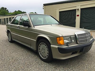 1987 Mercedes-Benz 190-Series 2.3 16v Cosworth 1987 Mercedes-Benz 190e 2.3-16v Cosworth Manual