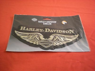 """Genuine Harley Davidson 10"""" Patch Bar & Shield With Wings New"""