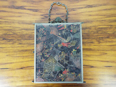 Antique Victorian Tri Fold Mirror Vanity Japanese Decor Trifold PAT Aug 7 1888