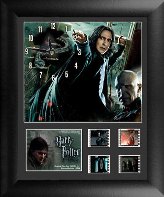 Harry Potter and the Deathly Hallows Limited Edition Film Cell Snape Clock