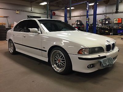 2000 BMW M5  2000 BMW M5 Alpine White on Black!!