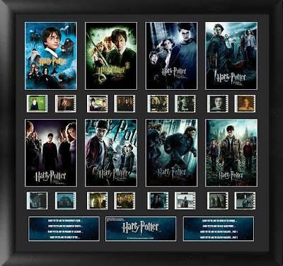 Harry Potter : Finale 8 Film Montage Limited Edition Film Cell from Trendsetters