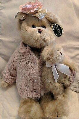 "The Bearington Bear Collection ""Rose and Anna"", with tags, Retired"