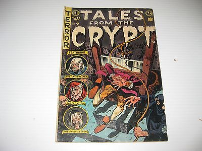 Tales from the Crypt #44 (Oct-Nov 1954, EC)  Vintage Golden Age