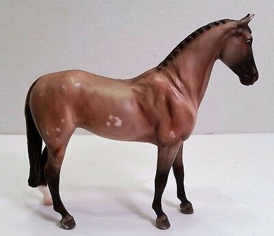 Breyer Molding Co Horse, Standing Mare, Brown Grey, Dark Muzzle Legs & Tail