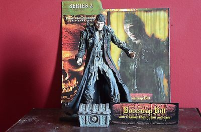 NECA Pirates of the Caribbean Dead Men's Chest Bootstrap Bill Turner Figure USED
