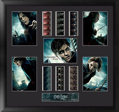 Harry Potter and the Deathly Hallows Montage Limited Edn Film Cell Trendsetters