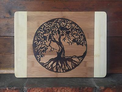 Tree of life's Knowledge Custom Kitchen /Serving Board