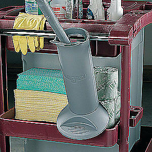 UNGER Plastic Toilet Brush Holder, BBHLR