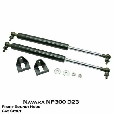 NEW! Front Bonnet Gas Strut Damper Lift Support|Fixs Navara NP300 D23|15++