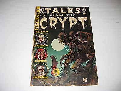 Tales from the Crypt #46 (Feb-Mar 1955, EC)  Final Issue  Werewolf Cover