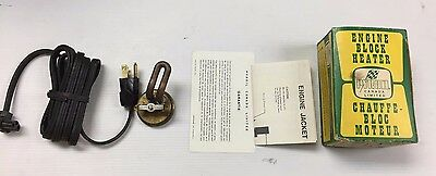 Pyroil Engine Block Heater #141 CANADA LIMITED LR20976 400 WATTS 115V * RARE **
