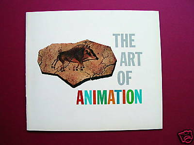 Walt Disney's The Art of Animation, Eyvind Earle, Rare Art booklet, 1958