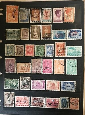 stamps Greece - MH and Used  - Lot 98