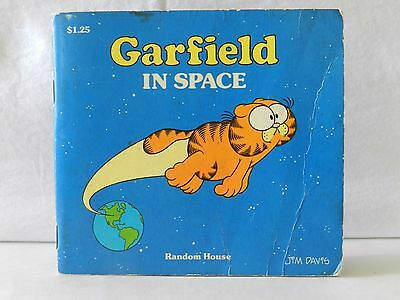 Vintage Garfield In Space copyright 1983
