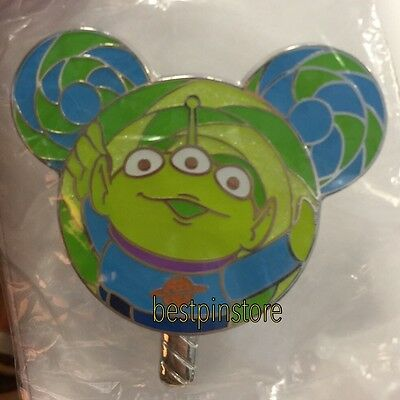 Disney pin - HKDL 2017 Lollipop Collection - Little Green Men