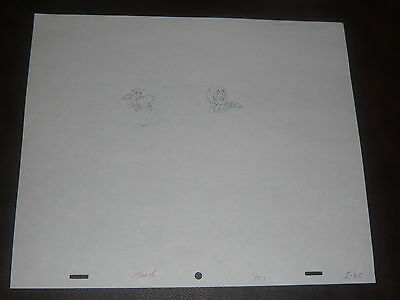 Scooby Doo Original Production Art  - Scooby and Shaggy in a Car