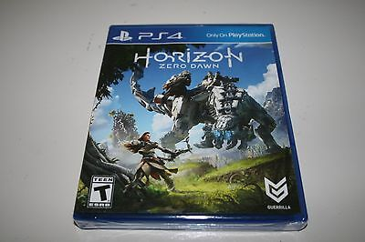 Horizon Zero Dawn (Sony PlayStation 4 PS4 ) Brand New and Factory Sealed