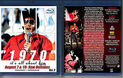 Elvis Presley 1970 - It's All About Him - Vol. 3 - New Blu-Ray Sealed!