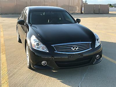 2013 Infiniti G37  2013 INFINITI G37X SAVE THOUSANDS MUSTSEE SHOWROOM CONDITION LOW MILES LOADED
