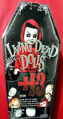Jacob - Living Dead Dolls Series 13 - Immaculate Complete Mint Cond With Ladder!