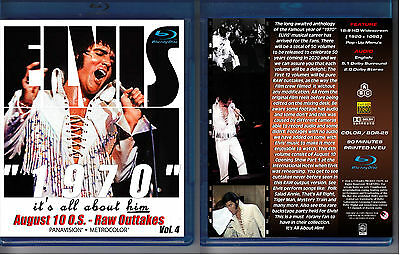 Elvis Presley 1970 - It's All About Him - Vol. 4 - New Blu-Ray Sealed!