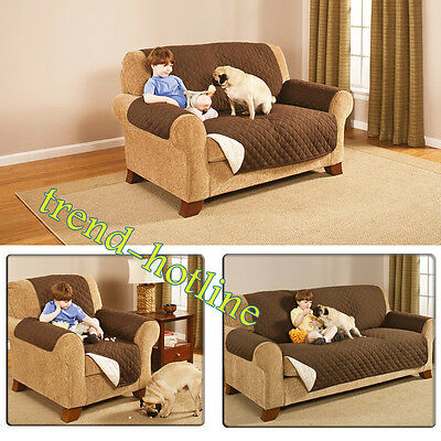 Removable Sofa Couch Bed Cover Anti-Slip Pet Dog Cat Protector For 1 2 3 Seaters