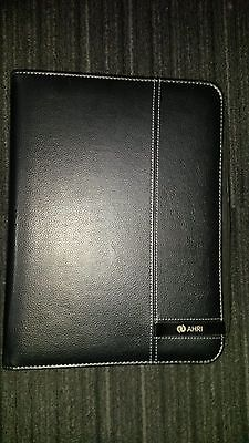 Black FULL ZIP Compendium Notepad Holder A4 Personal organiser