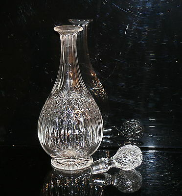 ANTIQUE WEBB OF ENGLAND CRYSTAL  DECANTER c 1950 EXQUISITE