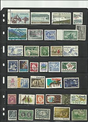 Small lot of Canada(3) used