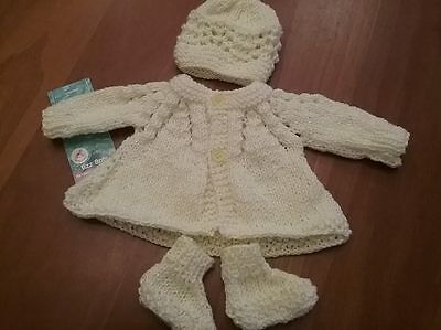 Hand knitted baby clothes Premmie and Newborn