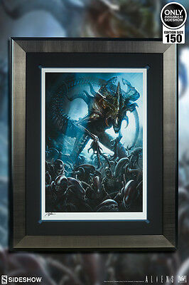 Alien King Premium Art Print by Sideshow, Framed, SOLD OUT