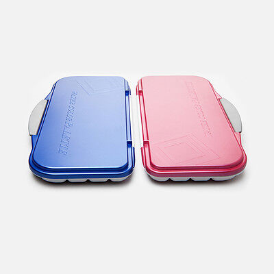 [MIJELLO] MWP-3018 Fusion Leakproof/Airtight Watercolor Palette 18Well Pink/Blue