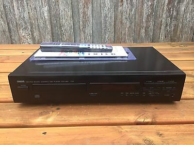 Serviced Yamaha CDX-450 CD Player Works Great We Post + Remote
