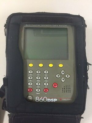 Trilithic 860Dsp Multi-Function Interactive Cable Analyzer Docsis 3.0
