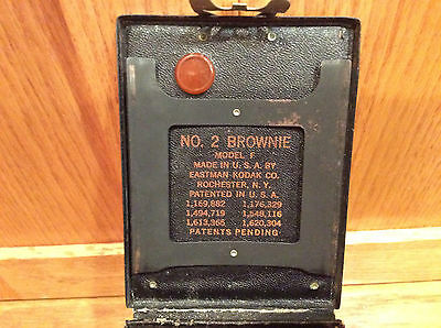 Vintage Kodak Brownie No. 2 Model F Blue - 1929 - 1931