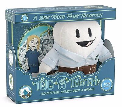 Tug & the Tooth Fairy - Plush Toy & Children's Book Boxed Set - New & Sealed!