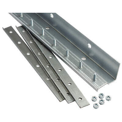 TMI Strip Door Hardware,5 ft.,Aluminum, 999-00051