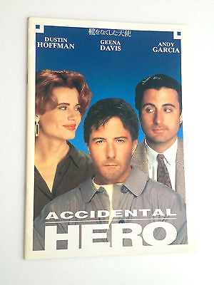 "Dustin Hoffman ""Hero (Accidental Hero)"", 1992 Japanese Movie Program Pamphlet"