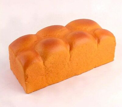 """JUMBO 8"""" Bread Loaf SQUISHY Scented, Slow Rising, US SELLER, SUPER FAST SHIP"""
