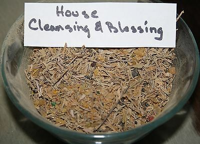 10gr HOUSE CLEANSING & BLESSING RESIN & HERB BLEND INCENSE**********************