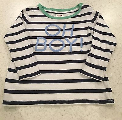 SEED Baby Boys Long Sleeve Top 6-12 Months 0
