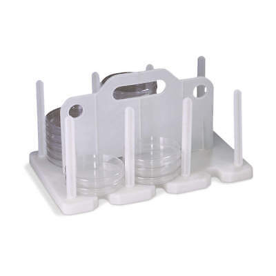 Sp Scienceware Rack Petri Dish Wh 7 In Hx8.25, F18991-0000