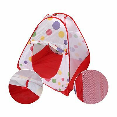 3 In 1 Kids Baby Toddler Play Station Play House Tent Crawl Tunnel Balls Pool