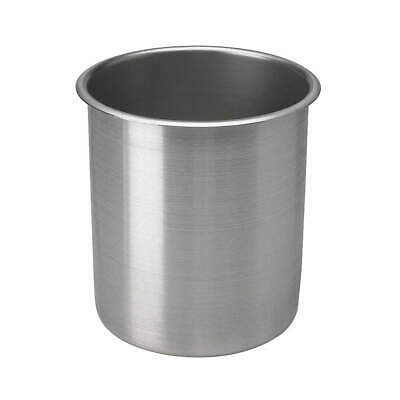 VOLLRATH Stainless Steel Pot,3 1/2 Qt,D 7 1/4 In., 78730, -
