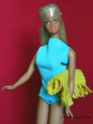 VINTAGE MOD MALIBU SUNSET BARBIE DOLL TNT TAIWAN w/ ORIGINAL SWIMSUIT OUTFIT