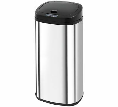 Morphy Richards Chroma 50 Litre Sensor Kitchen Bin Mirror Finish Hand Activates